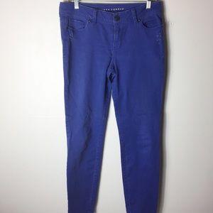 Lauren Conrad Blue 8 Casual Romantic Skinny Jeans